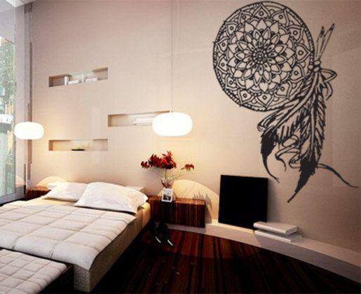 Native Design Wall Decals : Dream catcher wall decal sticker art room decor