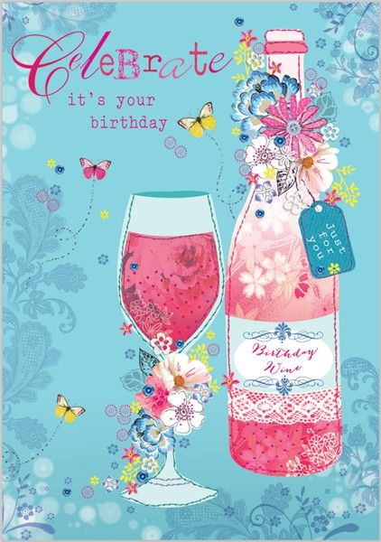 Celebrate Your Birthday - Birthday Wine