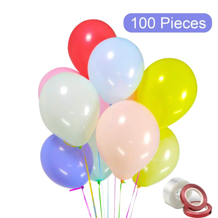 Pastel Balloons 100pcs Latex Balloons 12 Inches Assorted Birthday Balloons For Wedding Graduation Birthday Baby Shower Engagements Party 1 Balloon