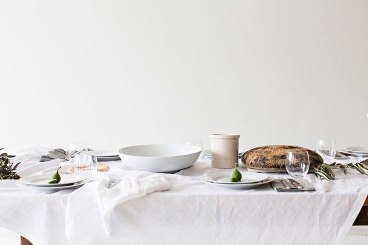 Create | A Mediterranean Feast with Pottery Barn — -