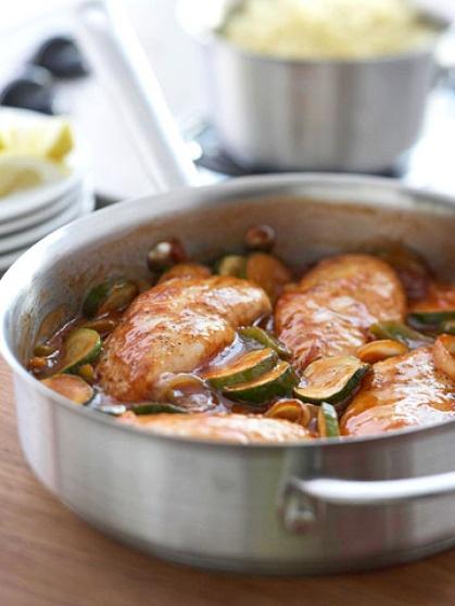 Greek style chicken skillet | Chicken, Turkey, etc. | Pinterest
