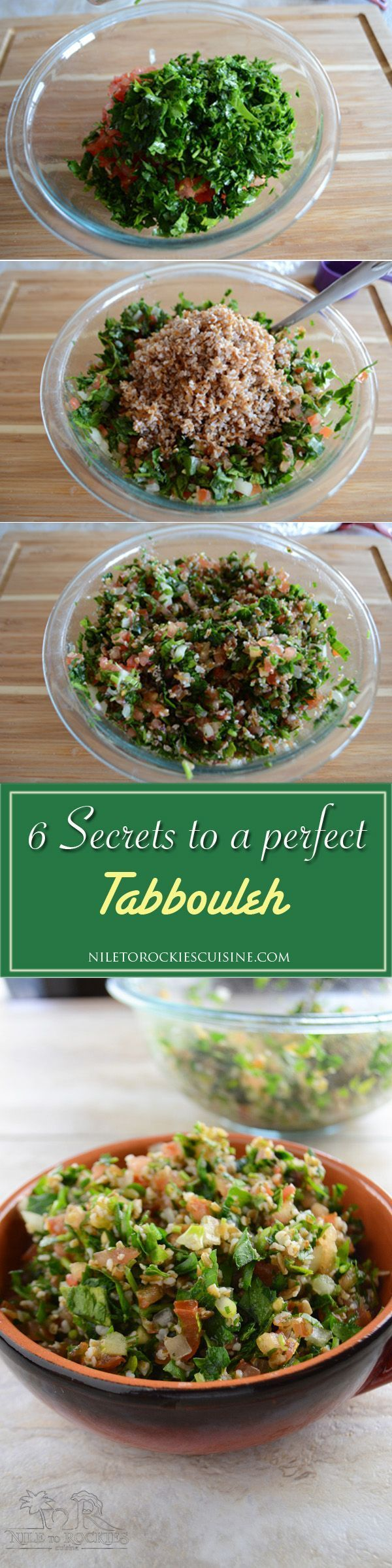Tabbouleh is probably the most famous recipe in the Lebanese cuisine. As many s