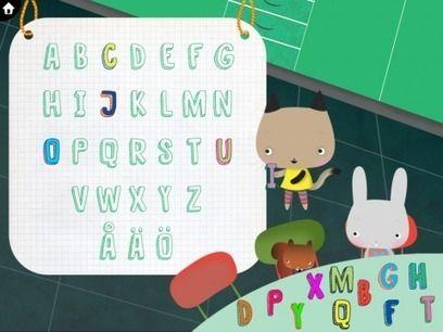 Appamini ABC - Lär barn utseende och namn på bokstäverna | Pappas Appar | Ipad i skolan & förskolan | Scoop.it