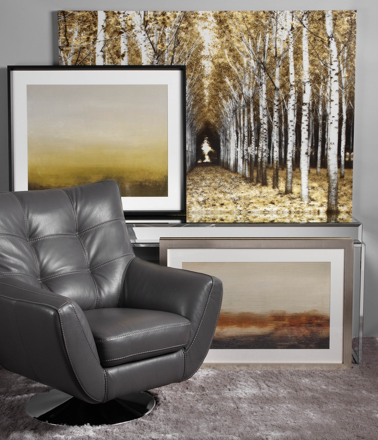 Casual living inspired by lemon and grey hues in our artwork.: Comfy Chair, Grey Art, Living Rooms, Color Inspiration, Grey Hue, Casual Living, Living Inspiration, Grey Comfy, Inspiration Design