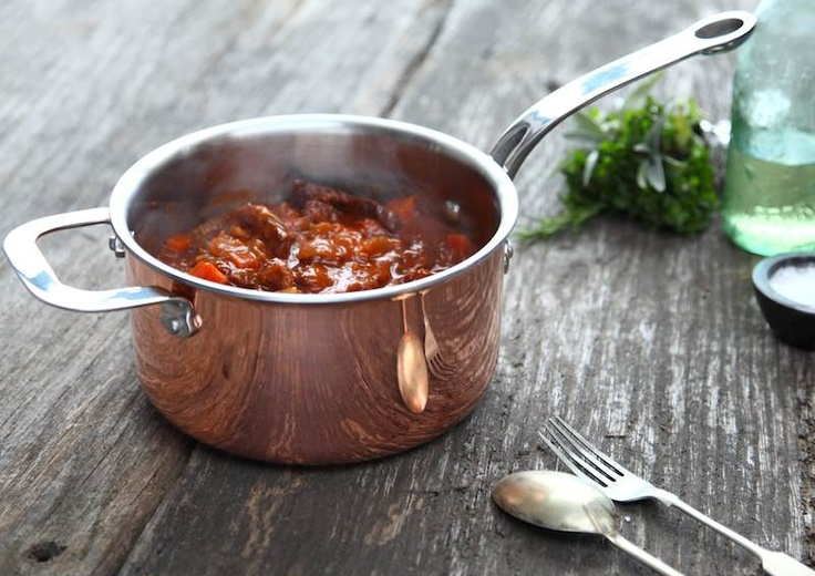 There is nothing like a good Hungarian Goulash, yum!