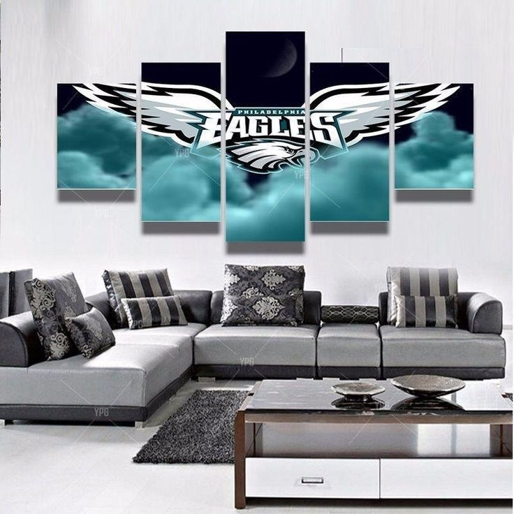Philadelphia Eagles Canvas Wall Art Cheap For Living Room