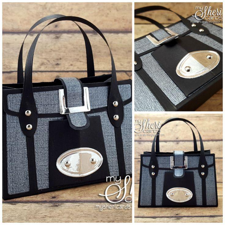 My Sheri CARDS: Tonic Studios - Kensington Hand Bag Gift Box Die