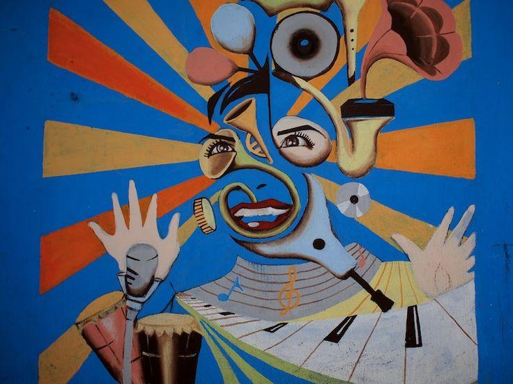Street art, San Pedro La Laguna.