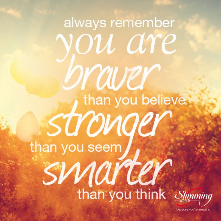 We know you can achieve your weight-loss dreams. If you've ever had a moment of doubt, then this inspiring quote will give you the confidence and the motivation to lose weight and change your life for the better. #slimmingworld