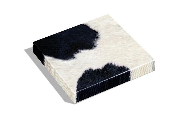 Dutch Design napkins Cow