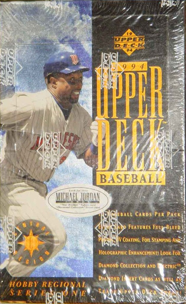 1994 Upper Deck Series 1 Baseball Central Region Sealed Box
