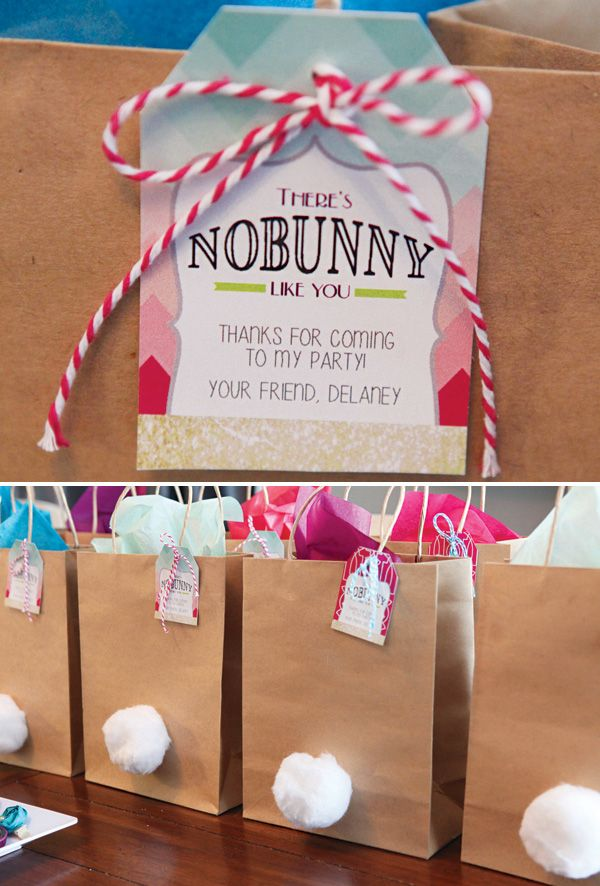 """No Bunny Like You"" Favorite Things Birthday Party // Hostess with the Mostess®"