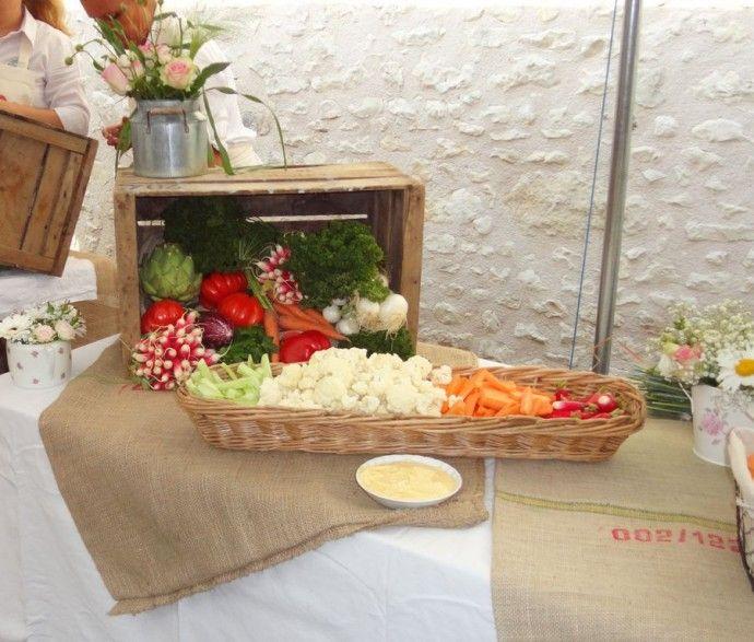 buffet champetre vin dhonneur angelique et michael