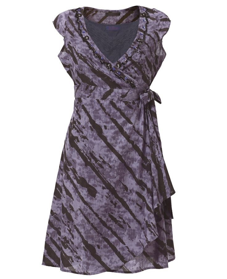"""Joe Browns"" Joe Browns Wonderful Wraparound Tunic at Simply Be  Was original $65 on sale now $32.50 AND have 50% off so got it for $16.50!"