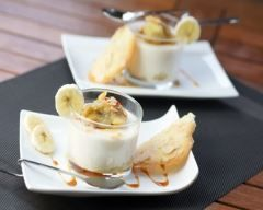 Photo de Dessert simple léger (light) à la banane