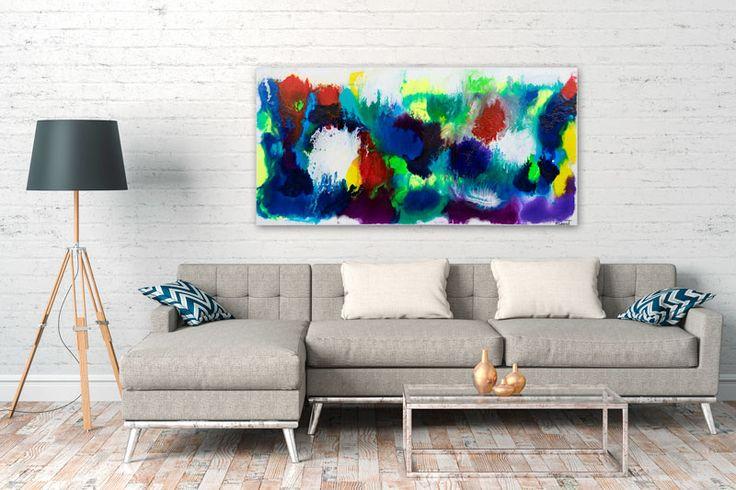 HOME DECOR WITH PAINTINGS !  Deflection II  My website: https://artbylonfeldt.dk/  #art #arts #paintings #painting #fineart #artbylonfeldt