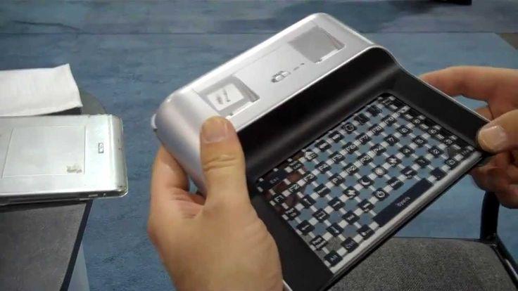 Homogadget: conoce la primera tablet transparente