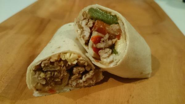 Receita de Burritos mexicanos de carne moída