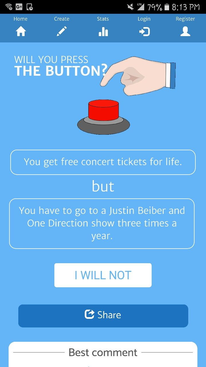 No downside. One direction broke up, and Justin Beiber isnt bad... you could just bring earplugs or leave early, etc. I mean the concert tickets are free!