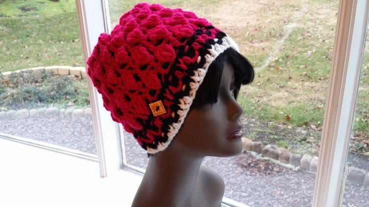"Crochet hat, ""Myrte Hat"" Winter Hat by Laniecrochetcorner on Etsy"