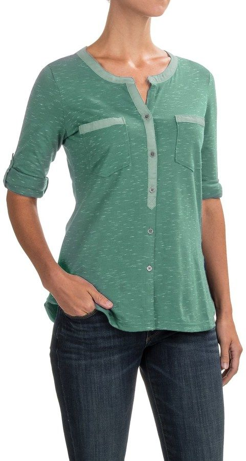 Columbia Vista Hills Henley Shirt - 3/4 Sleeve (For Women)