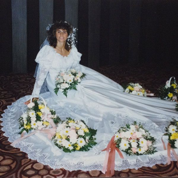 Vintage Wedding Dresses 80s: 70 Best Images About 1980s Wedding Dresses On Pinterest