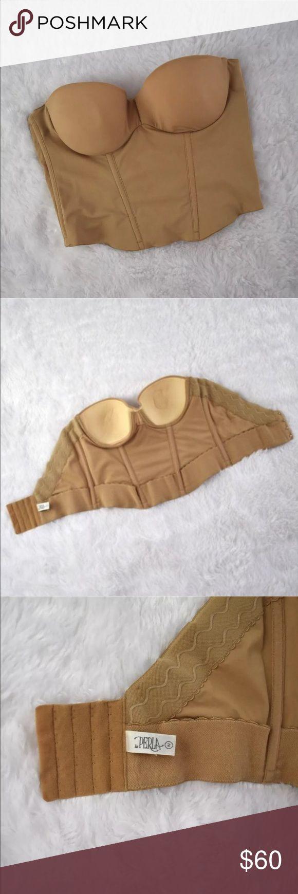 La Perla Low Back Strapless Corset Bra Gently used without flaws. Size 34B La Perla Intimates & Sleepwear Bras