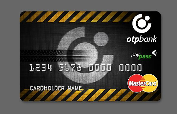 OTP Bank Paypass card on Behance