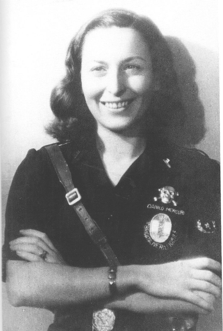 Lina Malavenda ausiliaria della RSI morta a Padova il 30/4/1945 - pin by Paolo Marzioli