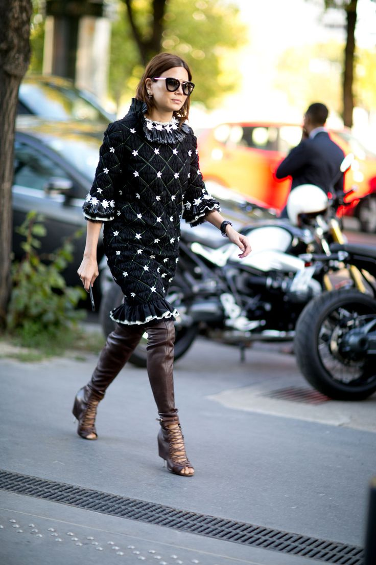#ChristineCenterna luxe Givenchy boots. Paris