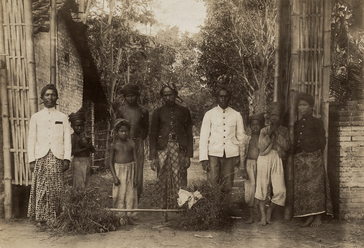 Indonesia, Java ~ Dutch East Indies