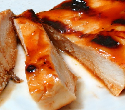 Chicken Recipes: Grilled Honey Barbecue Chicken