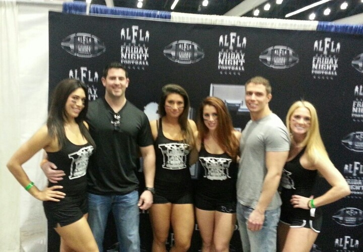 #lfl #la team. Shoutout to the #usc alum on the team #football #thefitexpo