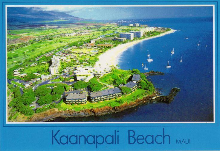 Kaanapali Beach, Maui, Hawaii   Postcards-Hawaii   Pinterest Hawaii