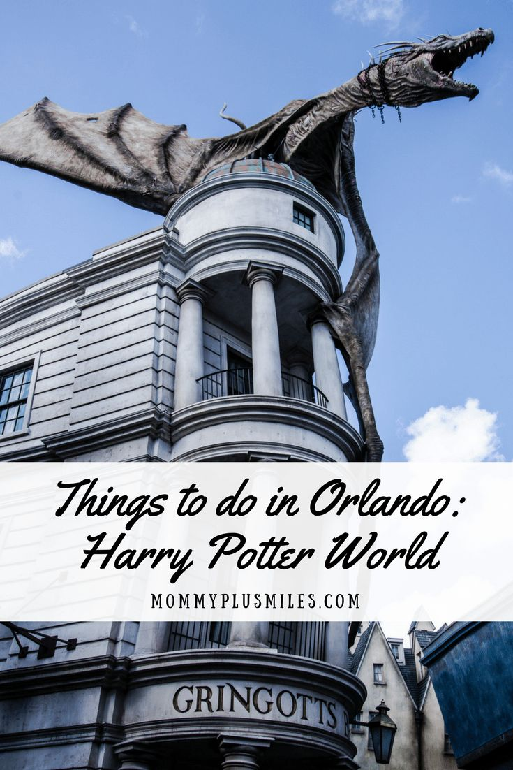 Looking for things to do in Orlando, Florida, USA? Look no further than Harry Potter World! Officially called the Wizarding World of Harry Potter, spend a day getting lost in the magic and wonder of Harry Potter at Universal Studios Orlando and Islands of Adventure.