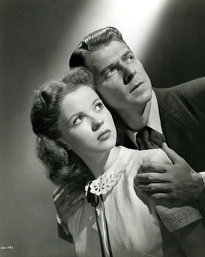 *SHIRLEY TEMPLE & RONALD REGAN