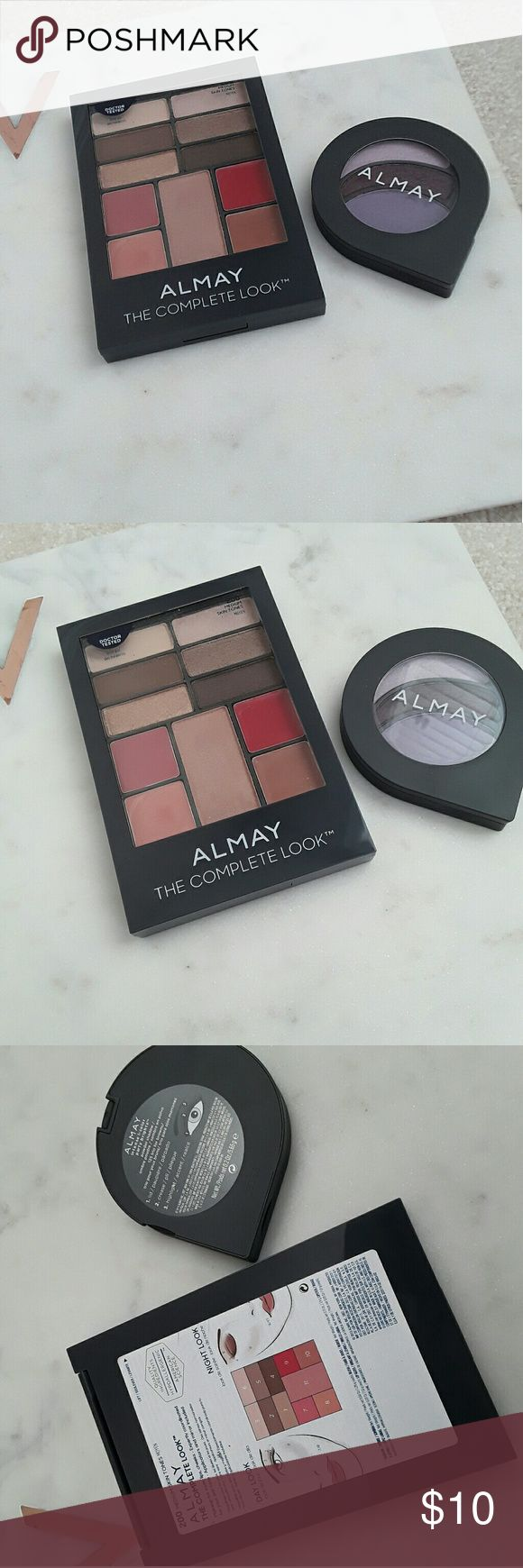Set Of 2 Almay Eyeshadow Palettes The Larger One Has Only Ever Been  Swatched The How