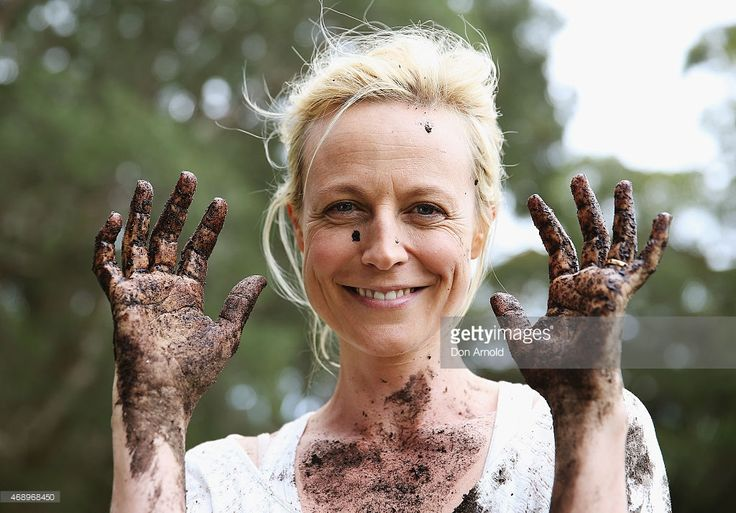 News Photo : Marta Dusseldorp poses after participating in a...