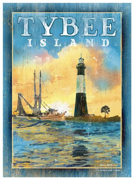 Tybee Island, Georgia. I want to go there.: Lights House, Tybe Beaches, Georgia Lighthouses, Favorite Places, Estam Vintage, Paintings Colors, Tybe Islands Georgia, Chic Vintage, Beaches Art