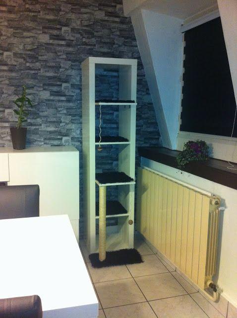 Kitty Cat Tower. Ikea Hack U0026 DIY