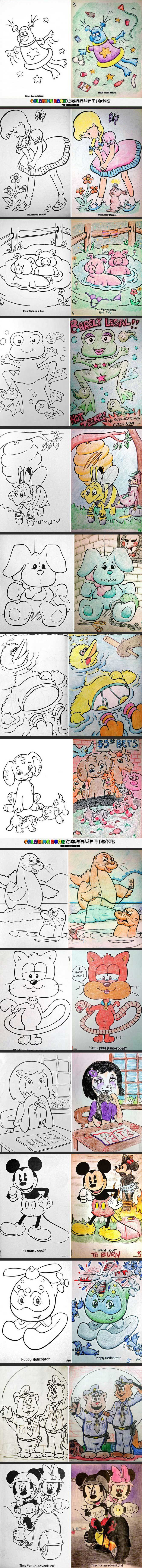 Coloring Book Corruptions Part II
