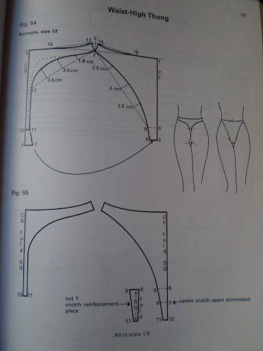 patterncutting for lingerie beachwear and leisurewear - blanca estela cifuentes flores - Álbuns da web do Picasa