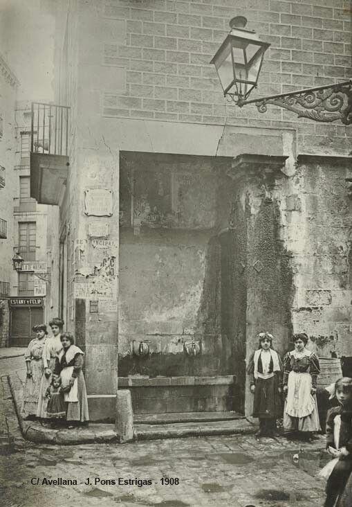Carrer de l'Avellana 1908
