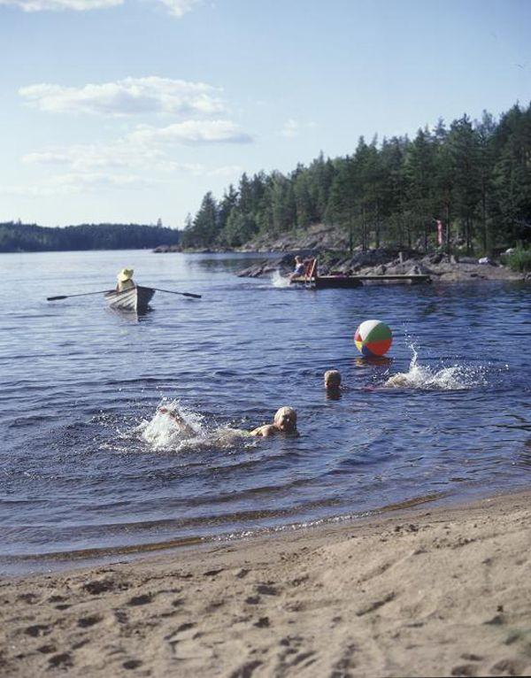 Summer by the lake, Saimaa, Pihlajavesi, Finland