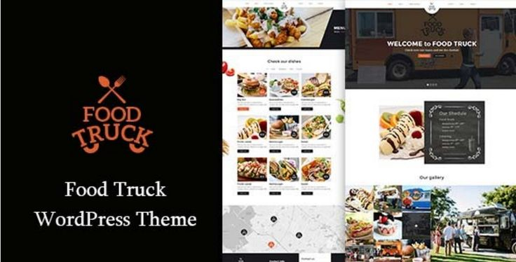 Food Truck – Template Responsive WordPress