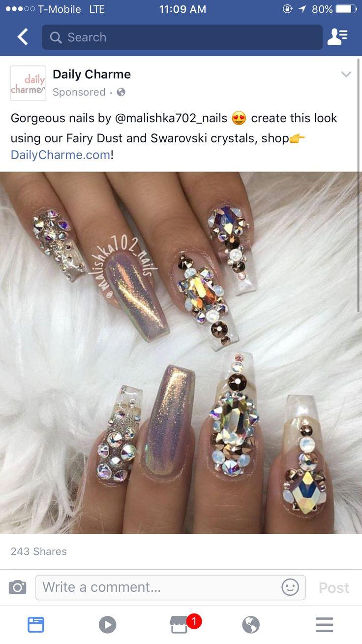 Mejores 249 imágenes de Nails en Pinterest   Diseños de uñas, Arte ...