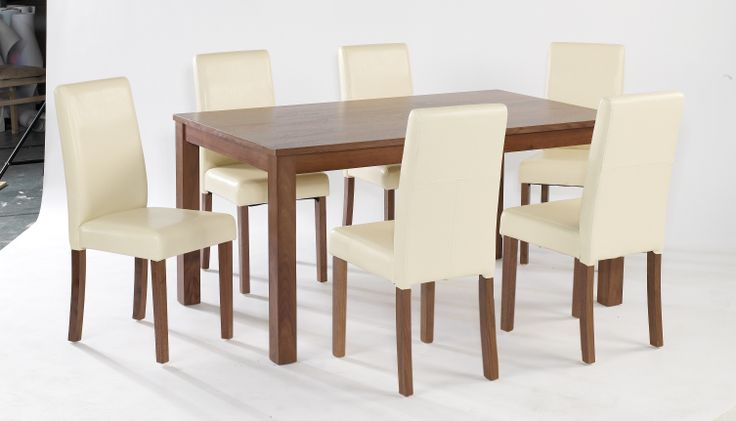 Brompton Large Walnut Veneer Table  Dimensions: L1500mm x W900mm x H740mm
