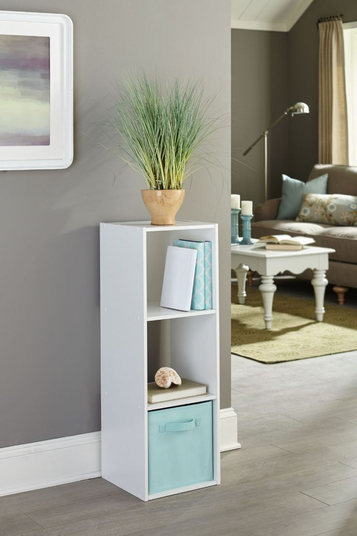 welcome your guests into a clutter free space with a closetmaid cubeicals cube storage system from