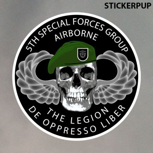 5th Special Forces Group StickerPup.Com Custom Stickers
