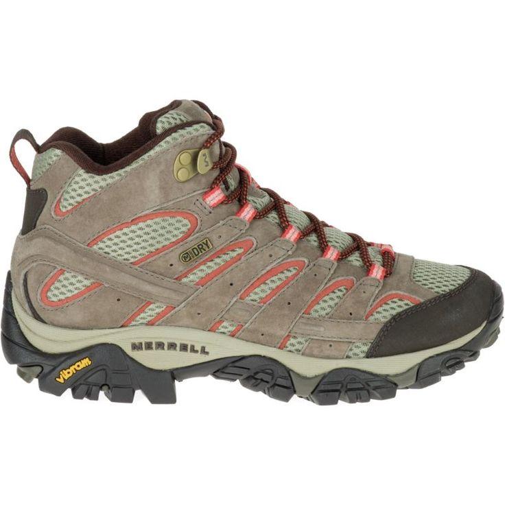Merrell Women's Moab 2 Mid Waterproof Hiking Boots, Brown